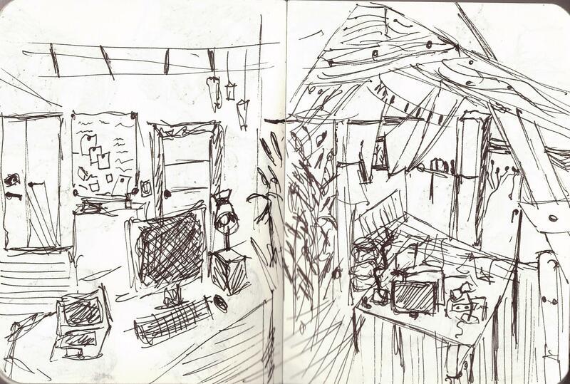 Intérieur d'un espace de travail