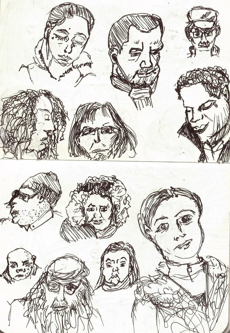 Dessin d'observation : portraits