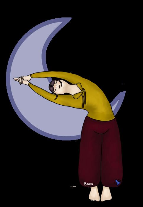 Posture de la lune