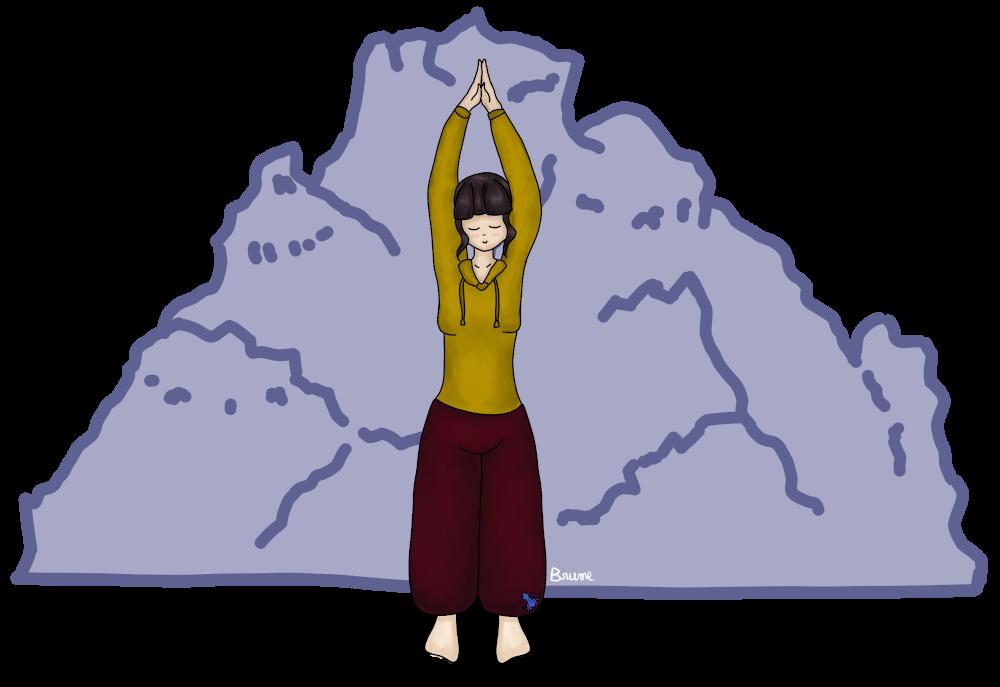 Posture de la montagne